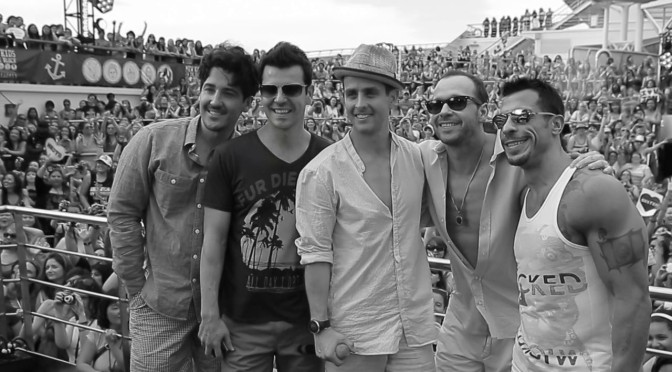 'Get lost with NKOTB'<br>Cruise 2014