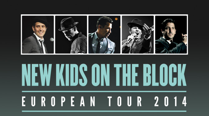 An Intimate Evening With NKOTB European Tour 2014